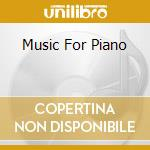 MUSIC FOR PIANO cd musicale di MORRICONE ENNIO
