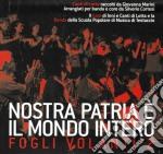 Marini Giovanna E La Banda Di Testaccio - Nostra Patria Il Mondo Intero cd musicale di MARINI GIOVANNA E LA