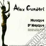 Cundari Alex - Musique D'afrique cd musicale di CUNDARI ALEX