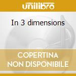 In 3 dimensions cd musicale di Chet atkins +21 b.t.