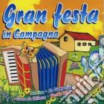 GRAN FESTA IN CAMPAGNA cd musicale di AA.VV.