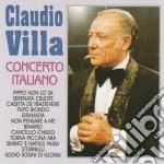 Claudio Villa - Concerto Italiano cd musicale