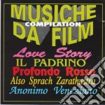 Musiche Da Film Compilation cd musicale