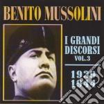 Benito Mussolini - I Grandi Discorsi #03 cd musicale