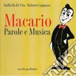 MACARIO PAROLE & MUSICA cd musicale di DE VITA/COGNAZZO