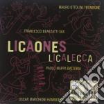 Licaones - Licalecca cd musicale di Licaones
