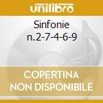 Sinfonie n.2-7-4-6-9 cd musicale di Beethoven