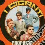 Giganti - Proposta cd musicale di GIGANTI (I)