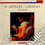 Piano music cd musicale di Mozart/brahms