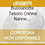BUONANOTTE TESORO (NINNA NANNE PIANOFORTE CARILLON E SUONI DELLA NATURA) cd musicale di ARTISTI VARI