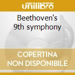 Beethoven's 9th symphony cd musicale