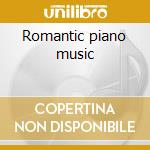 Romantic piano music cd musicale