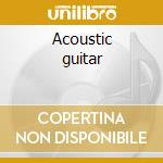 Acoustic guitar cd musicale