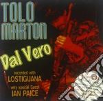 Tolo Marton - Dal Vero cd musicale di Tolo Marton