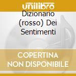 DIZIONARIO (ROSSO) DEI SENTIMENTI cd musicale di SIMONE FRANCO