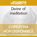 Divine of meditetion cd musicale di Artisti Vari