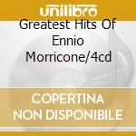 GREATEST HITS OF ENNIO MORRICONE/4CD cd musicale di ROTA NINO ENSEMBLE