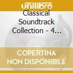 CLASSICAL SOUNDTRACK COLLECTION - 4 CD BOX cd musicale di ARTISTI VARI