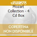 MOZART COLLECTION - 4 CD BOX cd musicale di MOZART