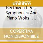 874706-beethoven-symphonies & piano work cd musicale di Collection Gold