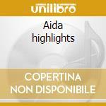 Aida highlights cd musicale di Verdi
