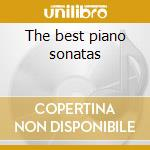 The best piano sonatas cd musicale di Beethoven