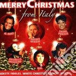 Merry christmas from italy cd musicale di Artisti Vari