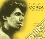 I ain't mad at you cd musicale di Chick Corea