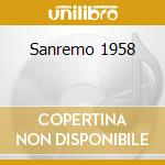 8° SANREMO 1958                           cd musicale di Artisti Vari