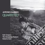 QUARTETTO cd musicale di ZAMBRINI ANTONIO QUA