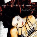 Marilena Paradisi Pietro Leveratto - Intimate Conversation cd musicale di PARADISI/LEVERATTO