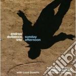 Andrea Dulbecco Trio - Sunday Afternoon cd musicale di DULBECCO ANDREA TRIO