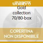 Gold collection 70/80-box cd musicale