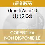 I grandi anni 50 i grandi autori italiani cd musicale di Artisti Vari