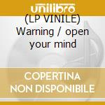 (LP VINILE) Warning / open your mind lp vinile di Electron storm vs dj