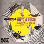Piero Piccioni - Tutto A Posto E Niente In Ordine cd musicale di Lina Wertmuller