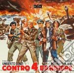 Riz Ortolani - Contro 4 Bandiere cd musicale di Umberto Lenzi