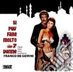 Franco De Gemini - Si Puo' Fare Molto Con 7 Donne cd musicale di Fabio Piccioni