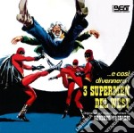Roberto Pregadio - E Cosi' Divennero I 3 Supermen Del West cd musicale di Anthony  Blond, Italo Martinenghi