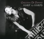 HARP TO HARPS cd musicale di DE DONNO GIULIANA