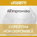 All'improvviso cd musicale di Califfi