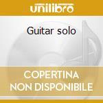 Guitar solo cd musicale di Finaz