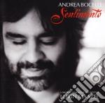 SENTIMENTO cd musicale di Andrea Bocelli