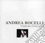 VIAGGIO ITALIANO  (CON 2 BONUS TRACKS) cd musicale di Andrea Bocelli
