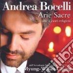 Andrea Bocelli - Arie Sacre cd musicale di Andrea Bocelli