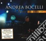 Vivere. Live in Tuscany (cd + dvd) cd musicale di Andrea Bocelli