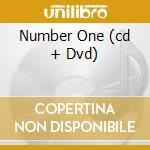NUMBER ONE (CD + DVD) cd musicale di ARTISTI VARI