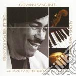 Benny golson tribute trio cd musicale di Sanguinetti Giovanni