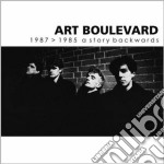 1987>1985 A STORY BACKWARDS               cd musicale di Boulevard Art