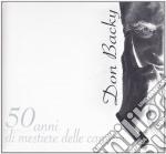 50 ANNI  DI MESTIERE DELLE CANZONI  - CD  cd musicale di Backy Don